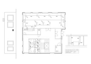ventilation and air-conditioning - ground plan